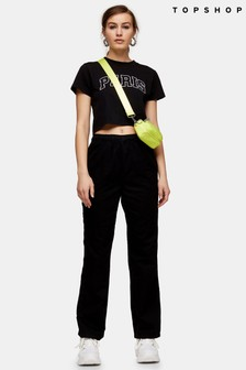 Topshop Straight Leg Trousers