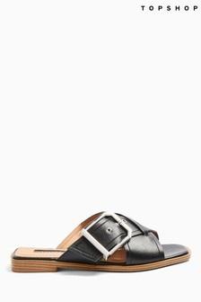 Topshop Porto Buckle Sandals