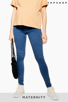Topshop Maternity Regular Leg Over Bump Jeans