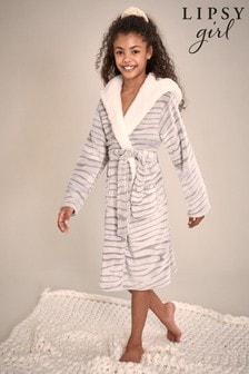 Lipsy Borg Lined Fleece Robe