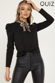 Quiz Puff Sleeve Top
