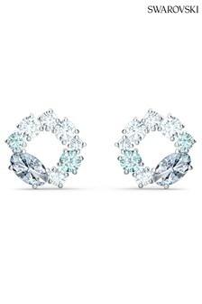 Swarovski Attract Circle Stud Earrings