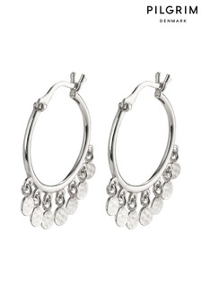 PILGRIM Panna Plated Hoop Earrings