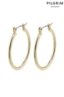 Pilgrim Layla Creole Hoop Plated Earrings