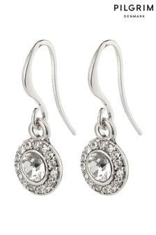 PILGRIM Clementine Plated Halo Earrings