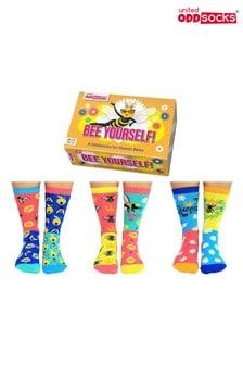 United Odd Socks Bee Yourself Socks