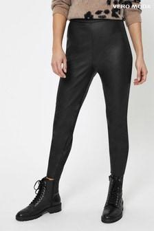 Vero Moda Faux Leather Trouser