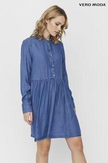 Vero Moda Denim Shirt Dress