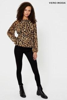 Vero Moda Animal Print Blouse