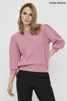 Vero Moda Puff Sleeve Knitted Jumper