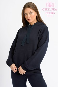 Chelsea Peers NYC Lounge Cotton Oversized Hoodie