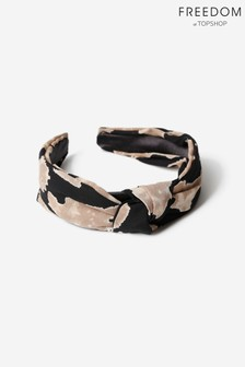 Freedom Jewellery Two Tone Print Knot Headband