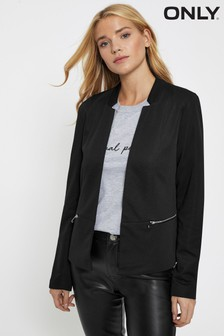 Only Blazer With Zip