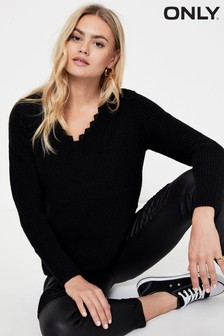 Only Lace Detail Jumper