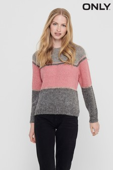 Only Colour Block Jumper