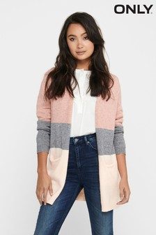 Only Colour Block Cardigan