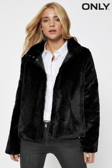 Only Faux Fur Jacket
