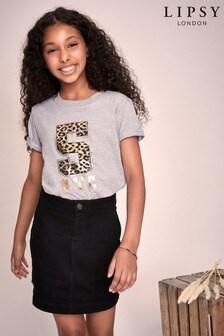 Lipsy Girl Varsity T-Shirt