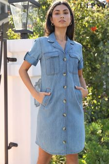 Lipsy Denim Shirt Dress