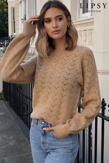Lipsy Lofty Pointelle Jumper