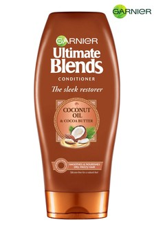 Garnier Ultimate Blends Coconut Oil & Cocoa Butter Conditioner for Curly Hair 360ml