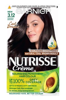 Garnier Nutrisse Cool Browns Permanent Hair Dye