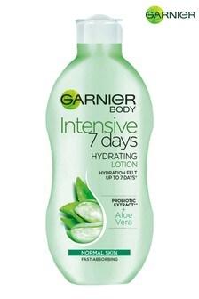 Garnier Intensive 7 Days Aloe Vera Probiotic Extract Body Lotion Normal Skin 400ml