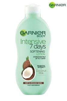 Garnier Intensive 7 Days Coconut Milk Body Lotion Dry Rough Skin 400ml