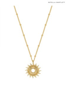 Estella Bartlett Full Sunburst Necklace