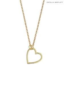 Estella Bartlett Open Heart Necklace