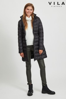 Vila Longline Padded Coat