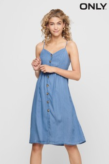 Only Denim Cami Midi Dress