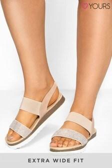 Yours Oberon Diam Strap Sandal