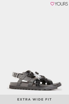 Yours Linares Sporty Footbed Sandal