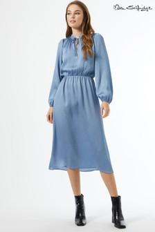 Miss Selfridge Satin Midi Dress