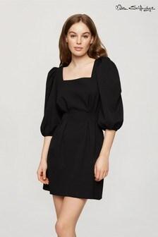 Miss Selfridge Pintuck Mini Dress