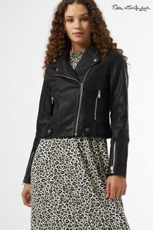 Miss Selfridge PU Tabby Biker Jacket