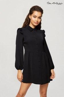 Miss Selfridge Frill Shirt Dress