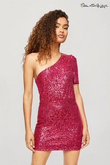 Miss Selfridge 1 Shoulder Mini Dress