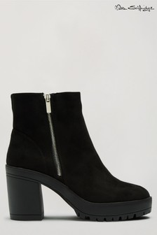 Miss Selfridge Brella Zip Chunky Boot