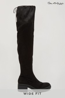 Miss Selfridge Wide Fit Otto Chunky Knee High Boot