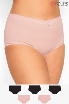 Yours Curve Full Briefs - Pack Of 5