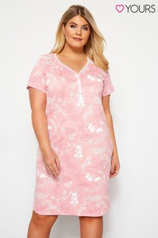 Yours Curve Sweet Dream Placket Nightdress