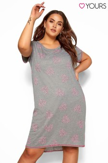 Yours Curve Cluster Heart Nightdress