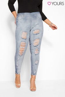 Yours Jenny Extreme Distressed Jeans