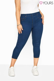 Yours Curve Crop Jegging