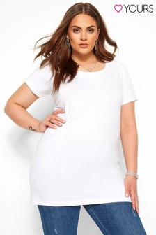 Yours Curve Longline Tee