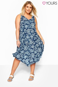 Yours Curve Flower Swing Dress