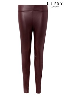 Lipsy Leather Look Legging
