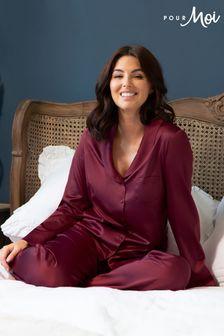 Pour Moi Dusk Satin Pyjama Set